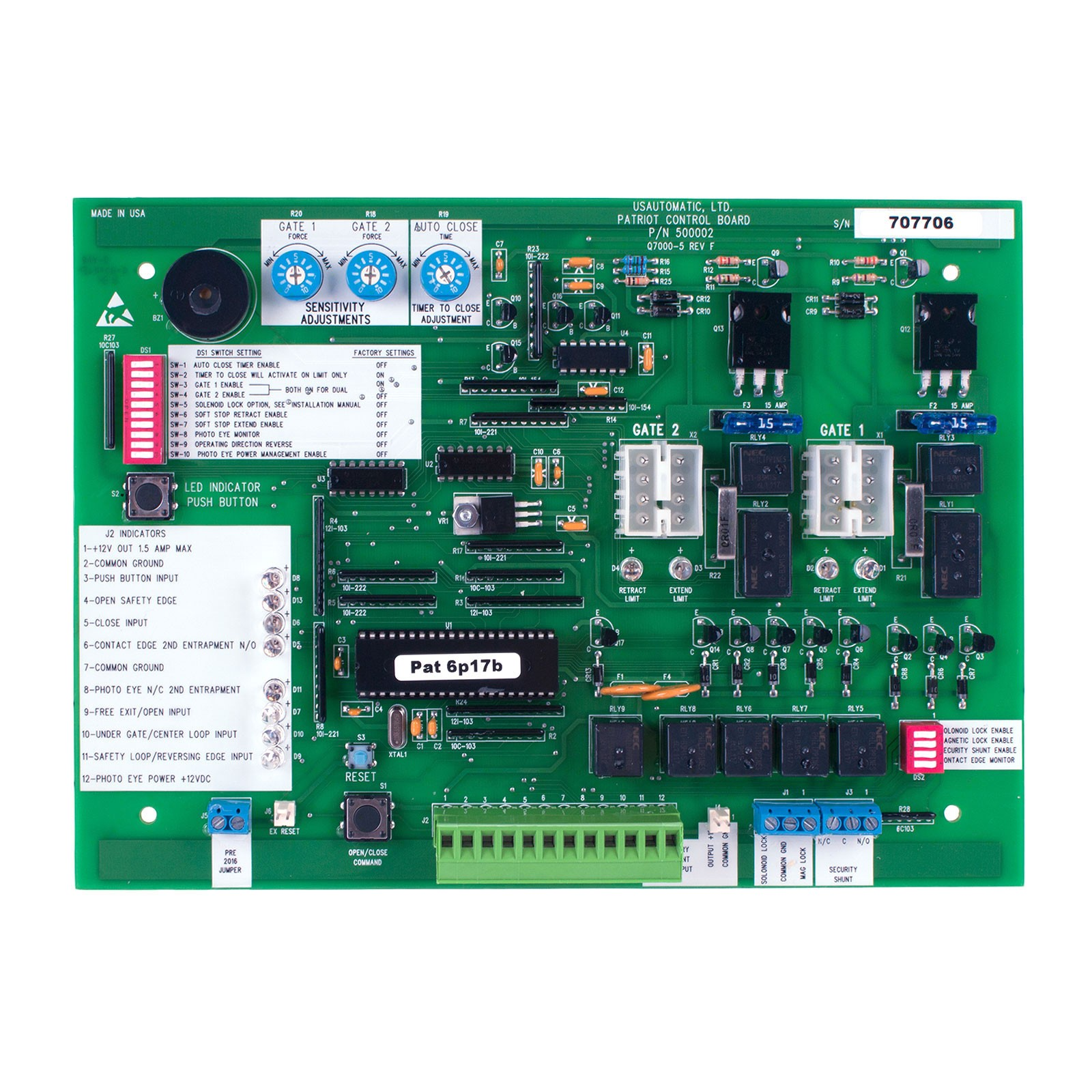 Shop Control Boards and Control Boxes