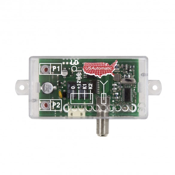 LCR 12 VDC Low Current Receiver (Solar Friendly) - USAutomatic 030205