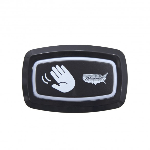 LCR Wireless Push To Operate Button (Outdoor-Rated) Black - USAutomatic 030215-BLACK