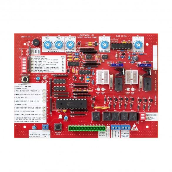 Patriot Swing Gate Operator Control Board - USAutomatic 500018