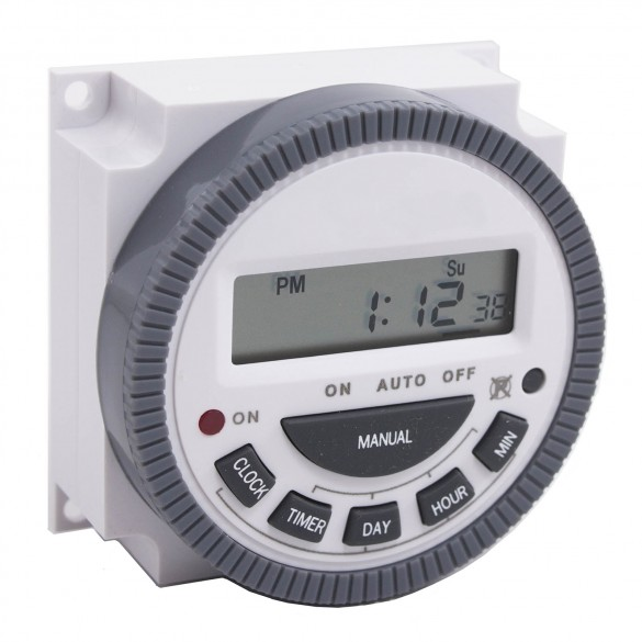 USAutomatic 7-Day Timer 12 Vdc Solar Friendly Device