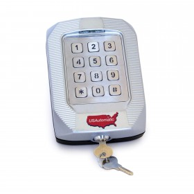 Wireless Premium Metal Keypad (256 Codes) - USAutomatic 050551