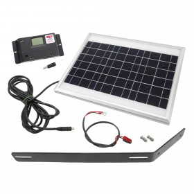 USAutomatic Solar Kit (10 Watt Solar Panel, Mounting Bracket, Charge Controller, Harness) - 520002