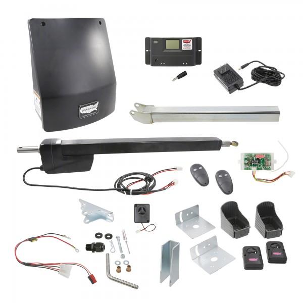 Ranger HD Single Gate AC Charged Swing Gate Operator w/ Radio Controls - USAutomatic 020516