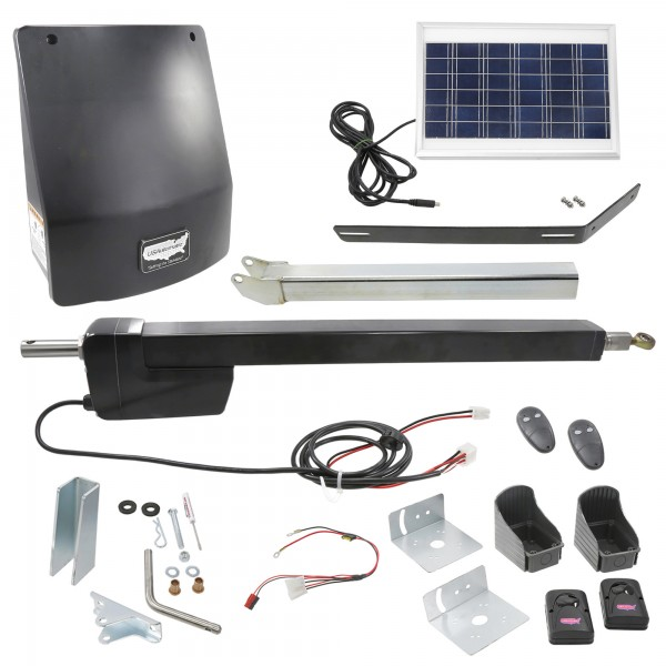 Ranger HD Single Gate Solar Charged Swing Gate Operator w/ Radio Controls - USAutomatic 020518