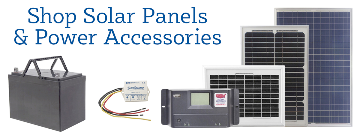 Shop USAutomatic Solar and Other Power Accessories