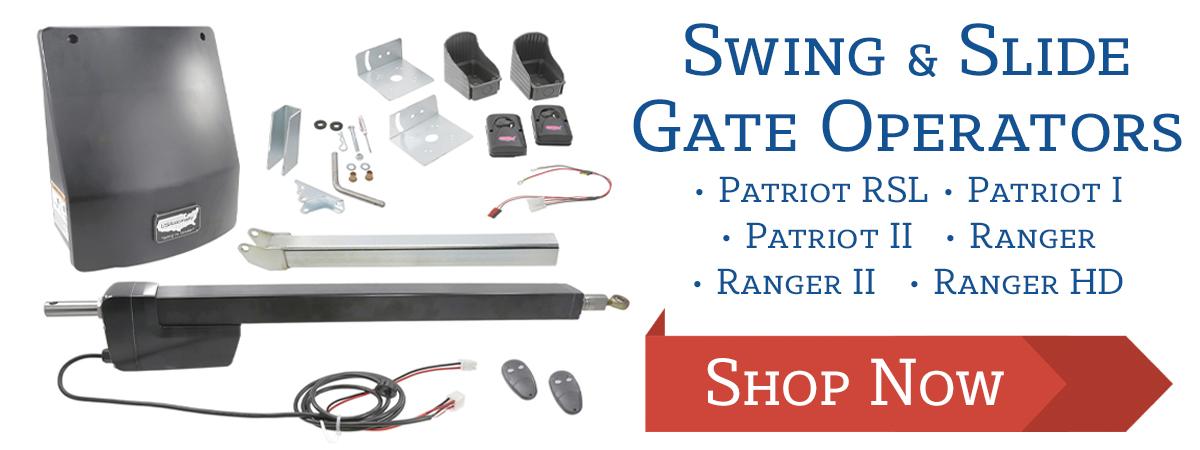 Shop USAutomatic Swing & Slide Gate Operators